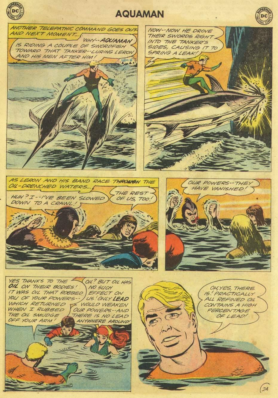 Read online Aquaman (1962) comic -  Issue #11 - 31