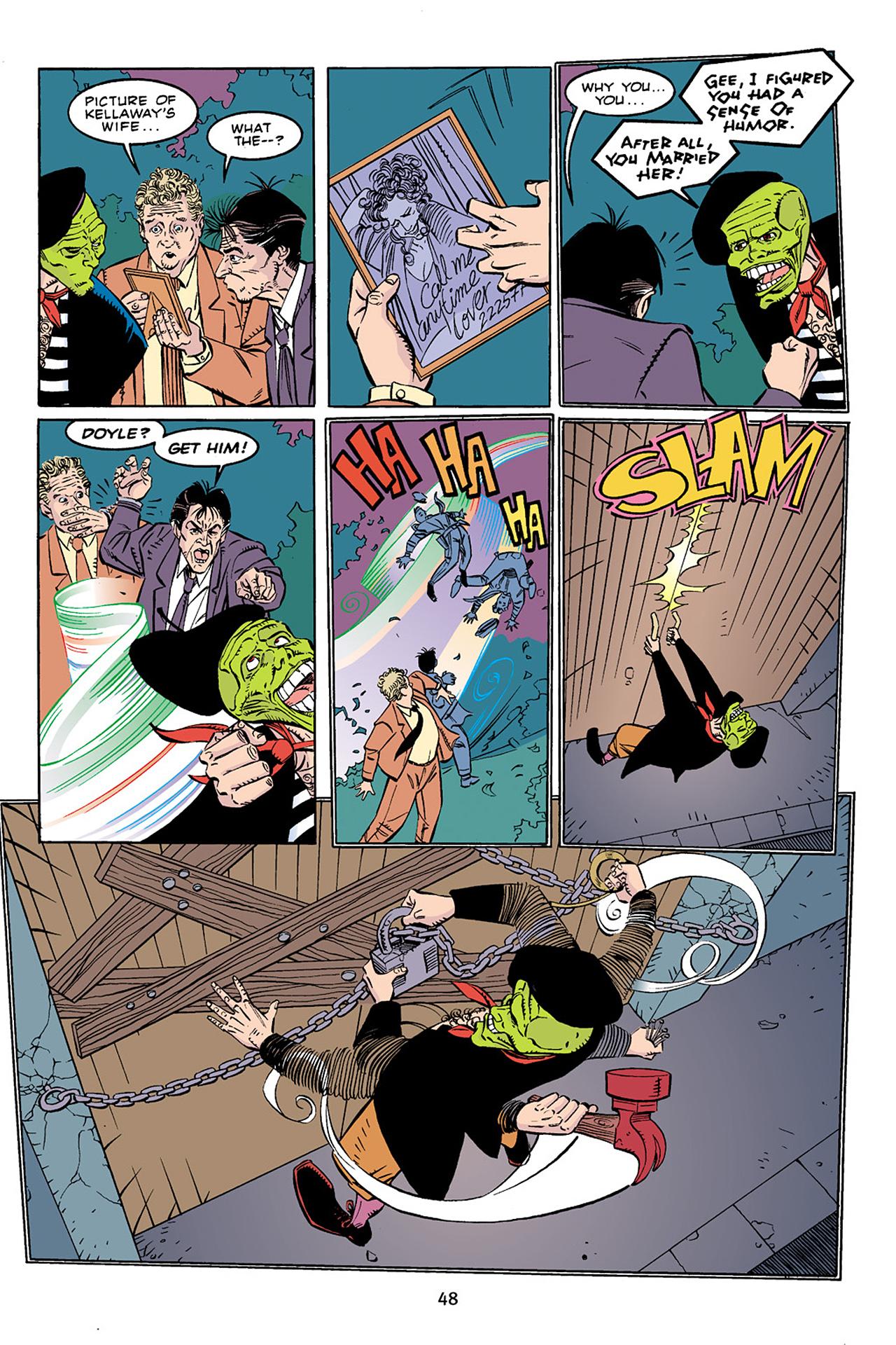 Read online Adventures Of The Mask Omnibus comic -  Issue #Adventures Of The Mask Omnibus Full - 48