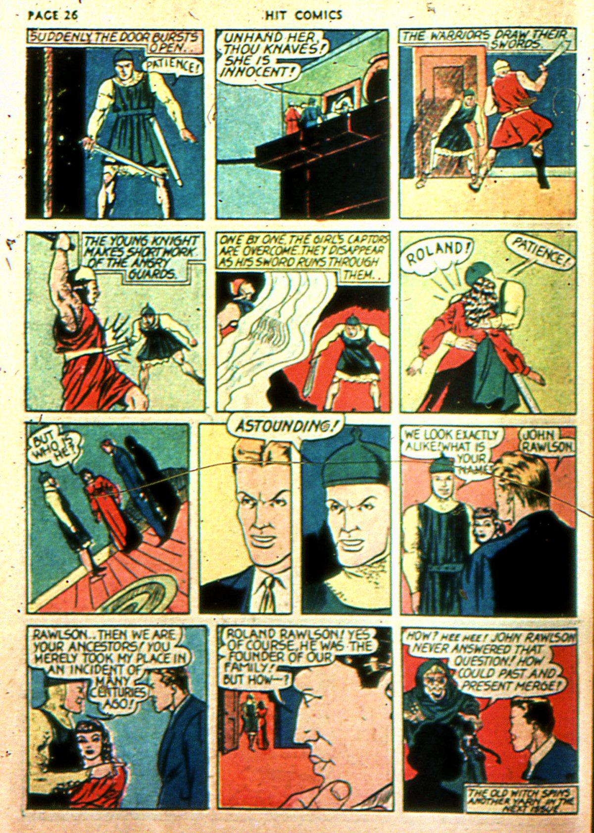 Read online Hit Comics comic -  Issue #2 - 28