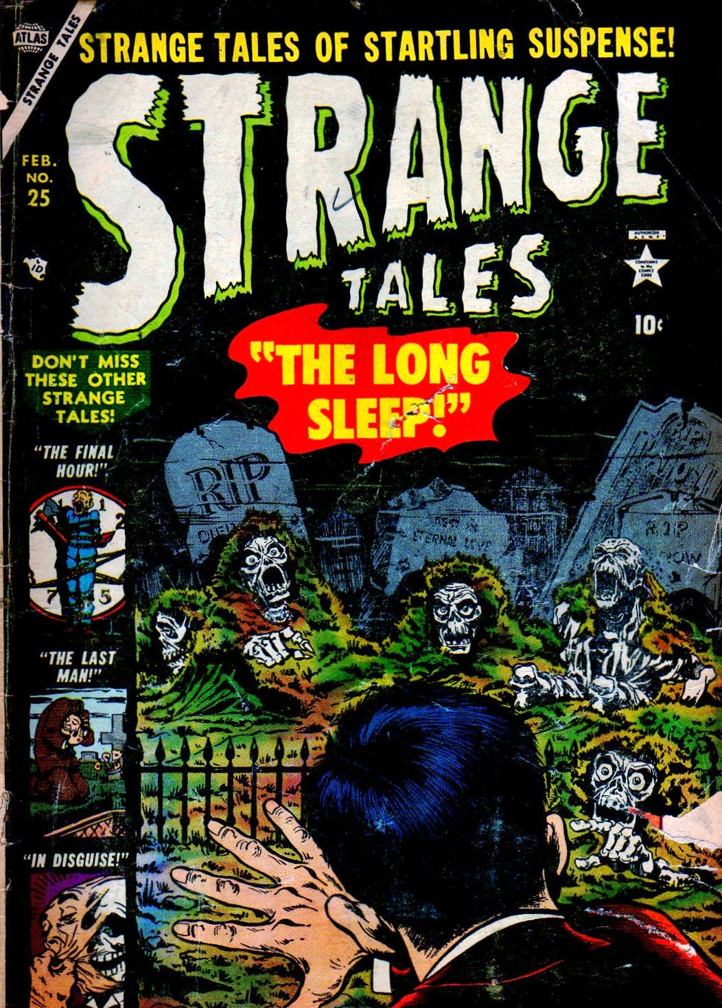 Strange Tales (1951) issue 25 - Page 1