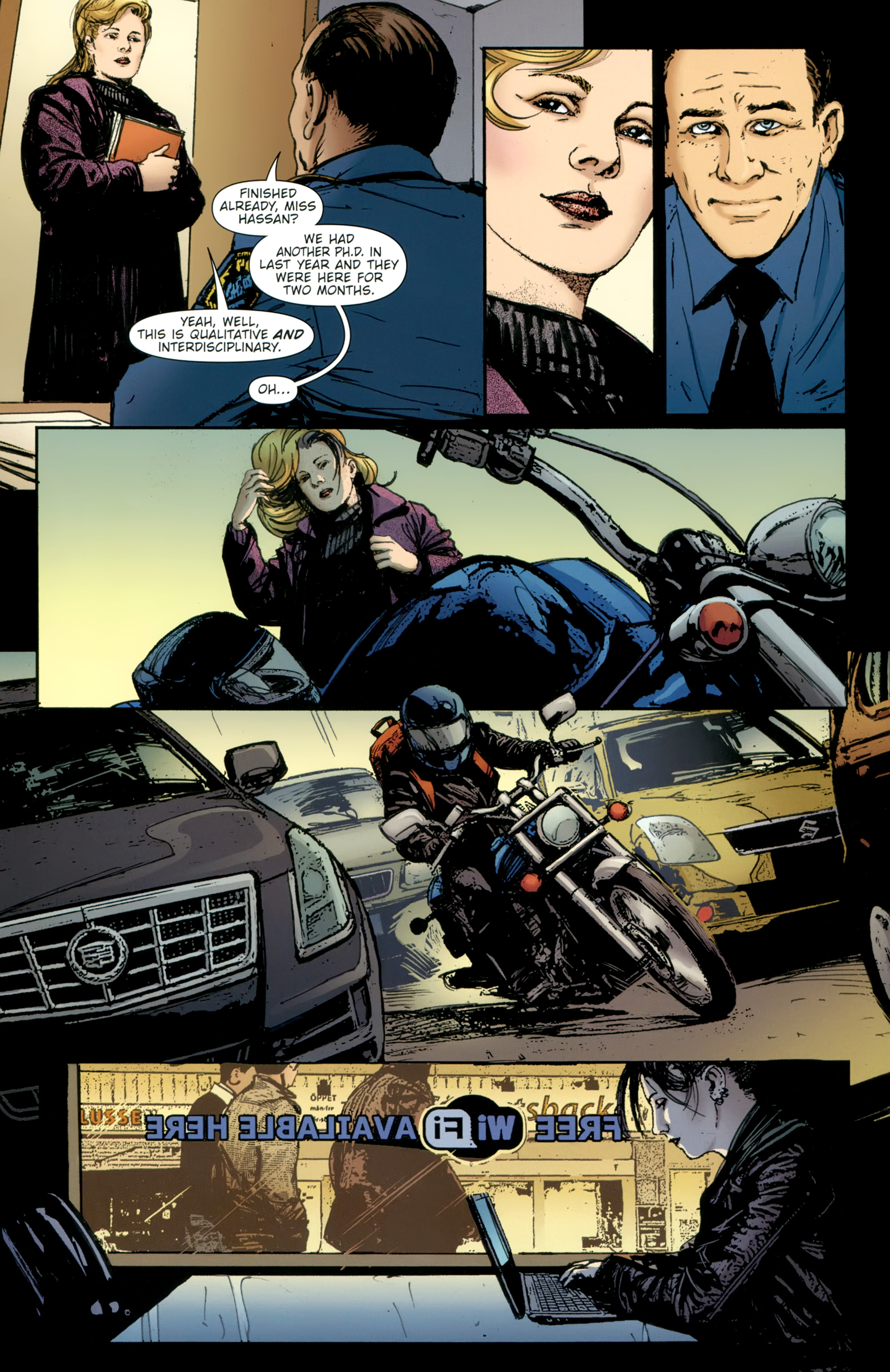 Read online The Girl With the Dragon Tattoo comic -  Issue # TPB 2 - 55
