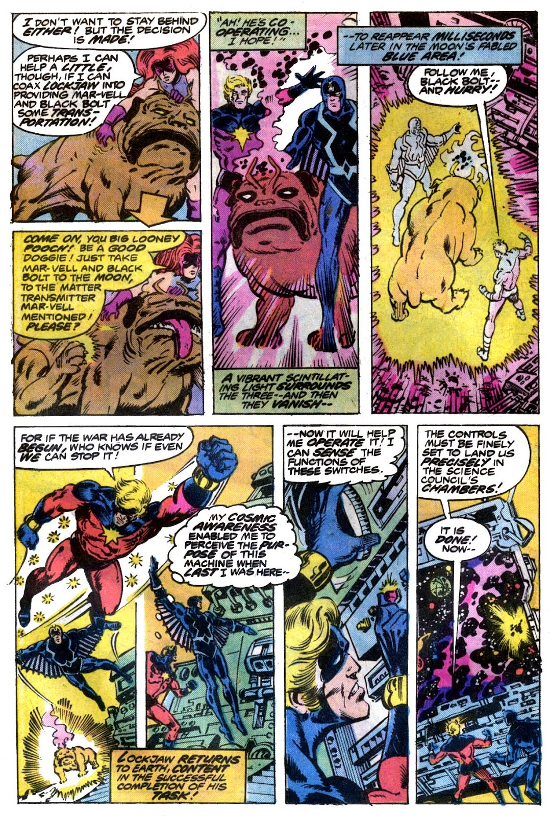 Captain Marvel (1968) issue 53 - Page 7