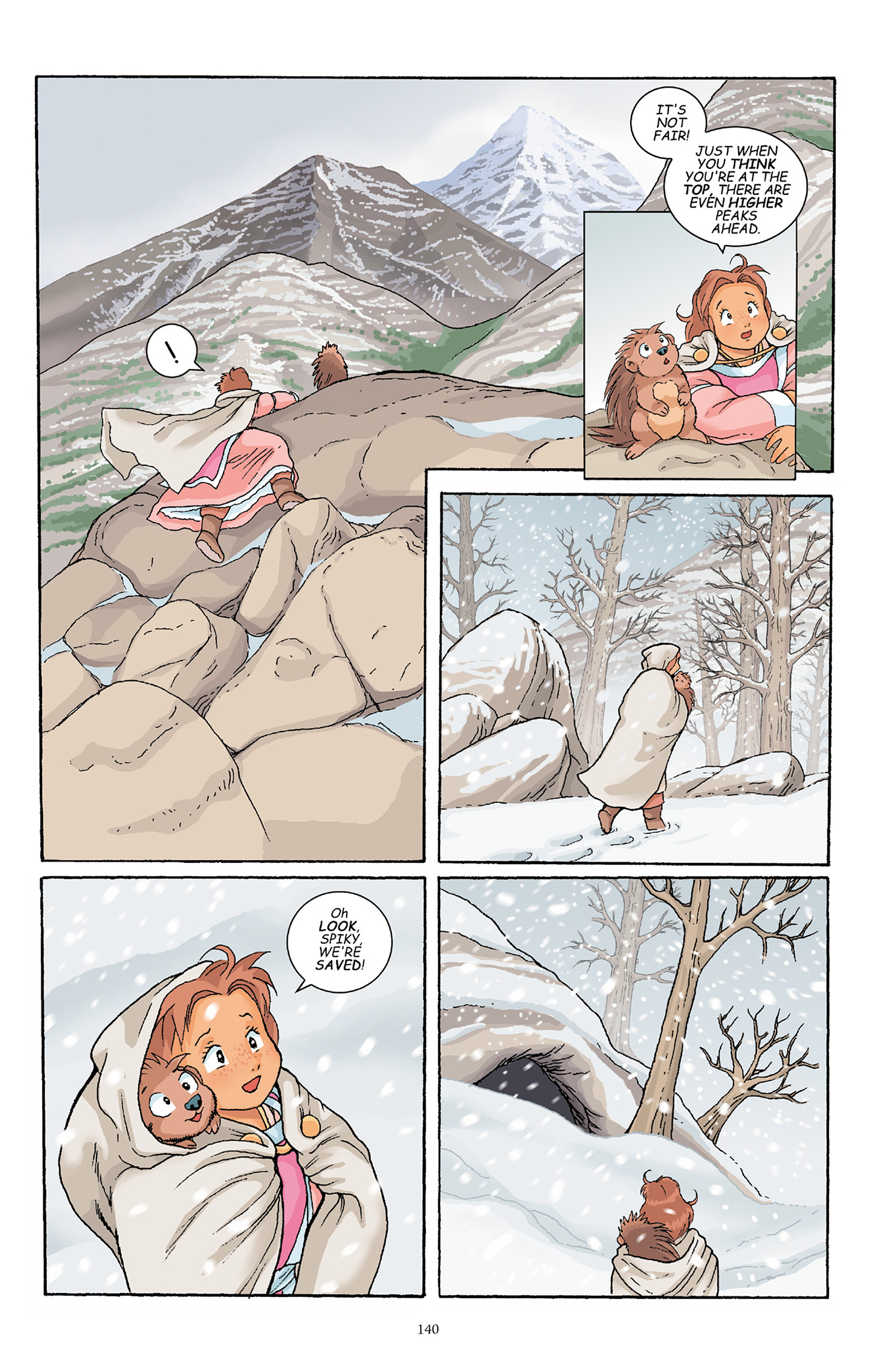 Read online Courageous Princess comic -  Issue # TPB 1 - 139