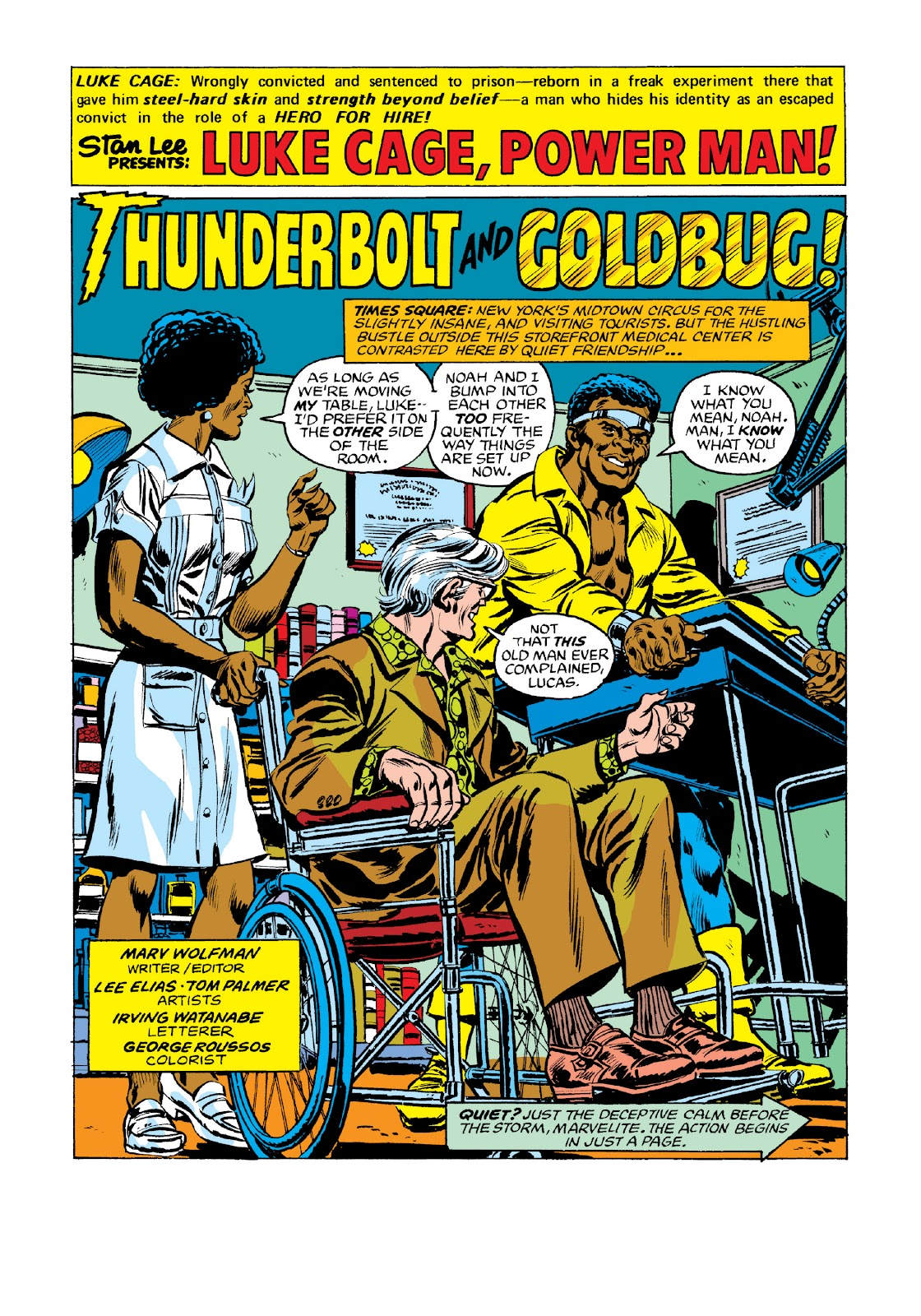 Read online Marvel Masterworks: Luke Cage, Power Man comic -  Issue # TPB 3 (Part 2) - 92