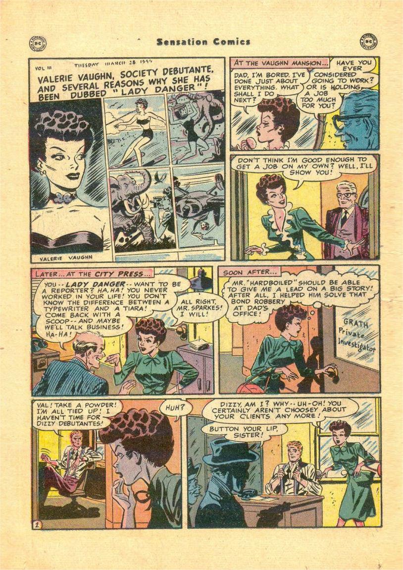 Read online Sensation (Mystery) Comics comic -  Issue #84 - 18