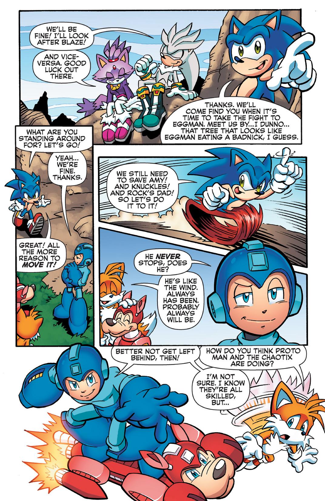 Read online Sonic Mega Man Worlds Collide comic -  Issue # Vol 2 - 77