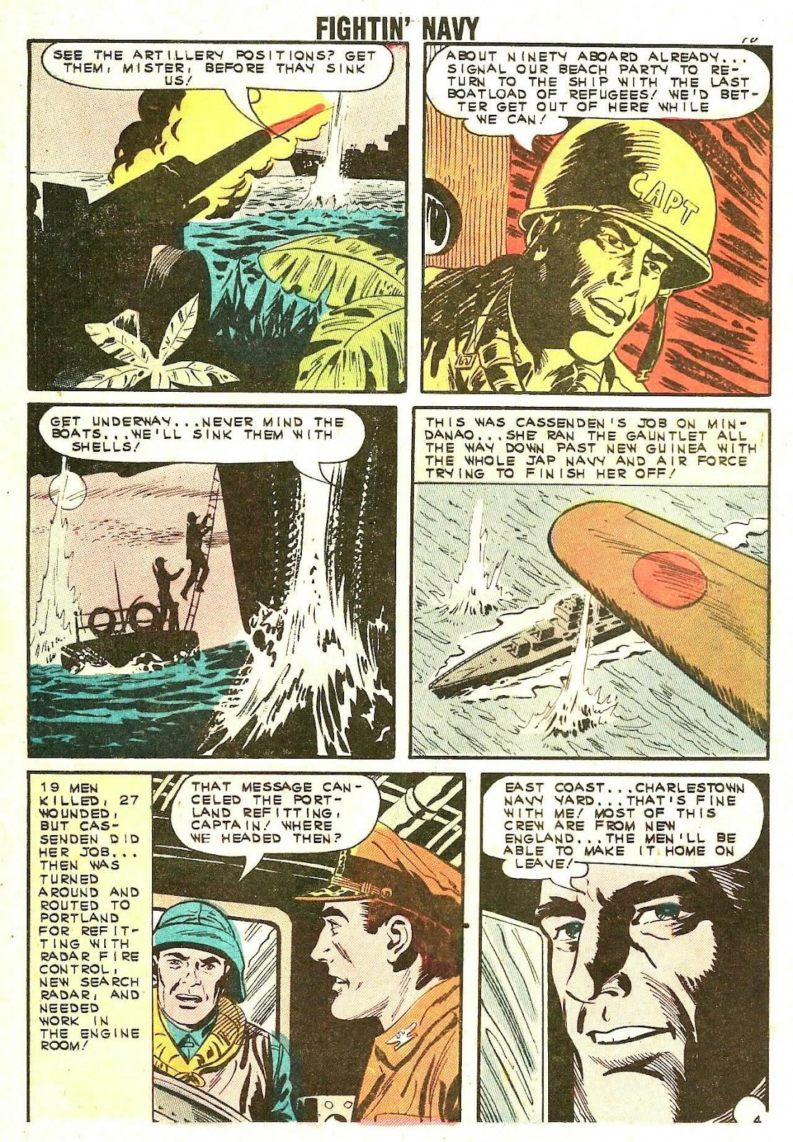 Read online Fightin' Navy comic -  Issue #110 - 12