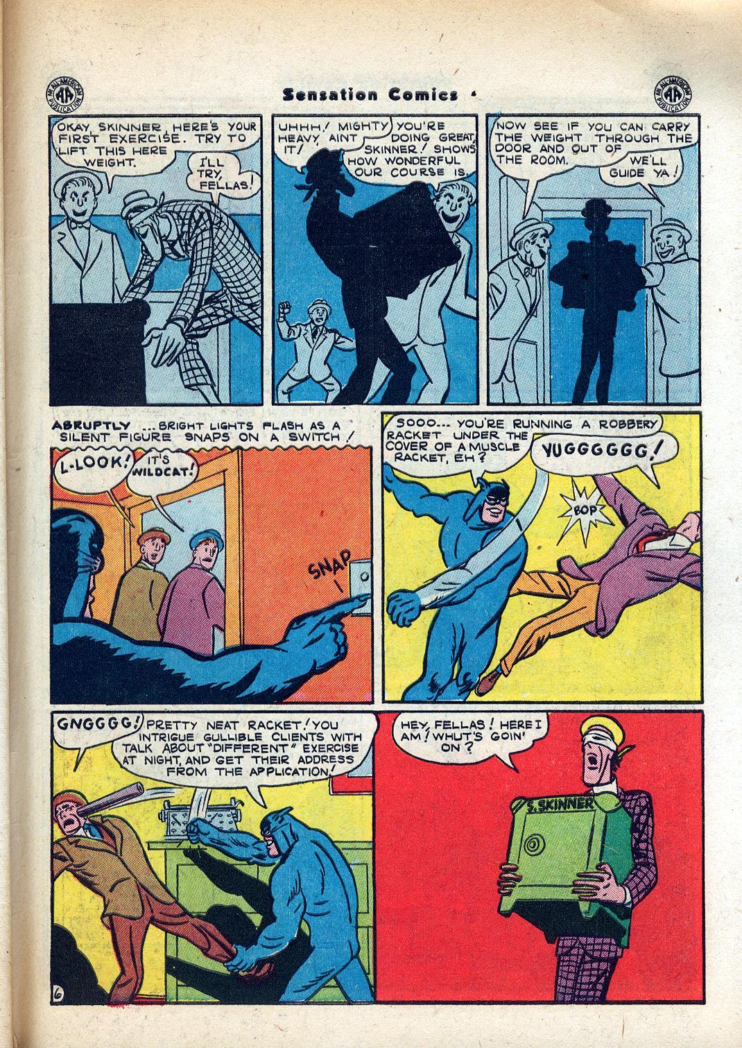 Read online Sensation (Mystery) Comics comic -  Issue #45 - 47