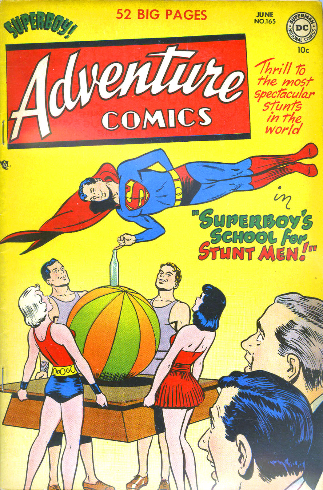 Read online Adventure Comics (1938) comic -  Issue #165 - 1
