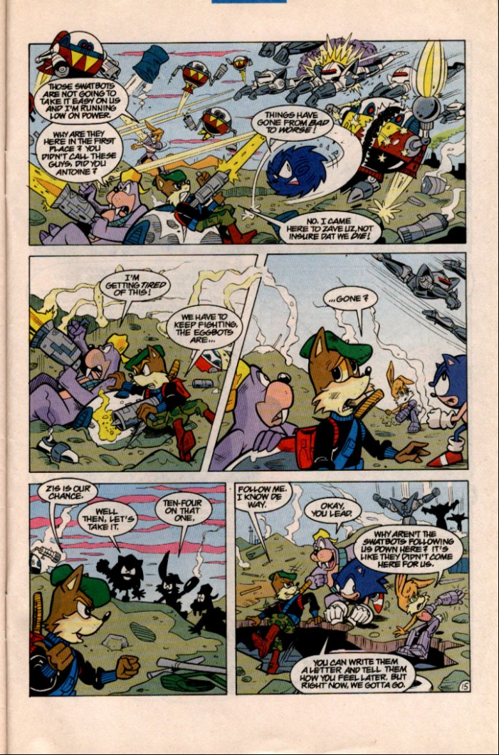 Read online Sonic Super Special comic -  Issue #1 - Sonic Vs. Knuckles Battle Royal - 43