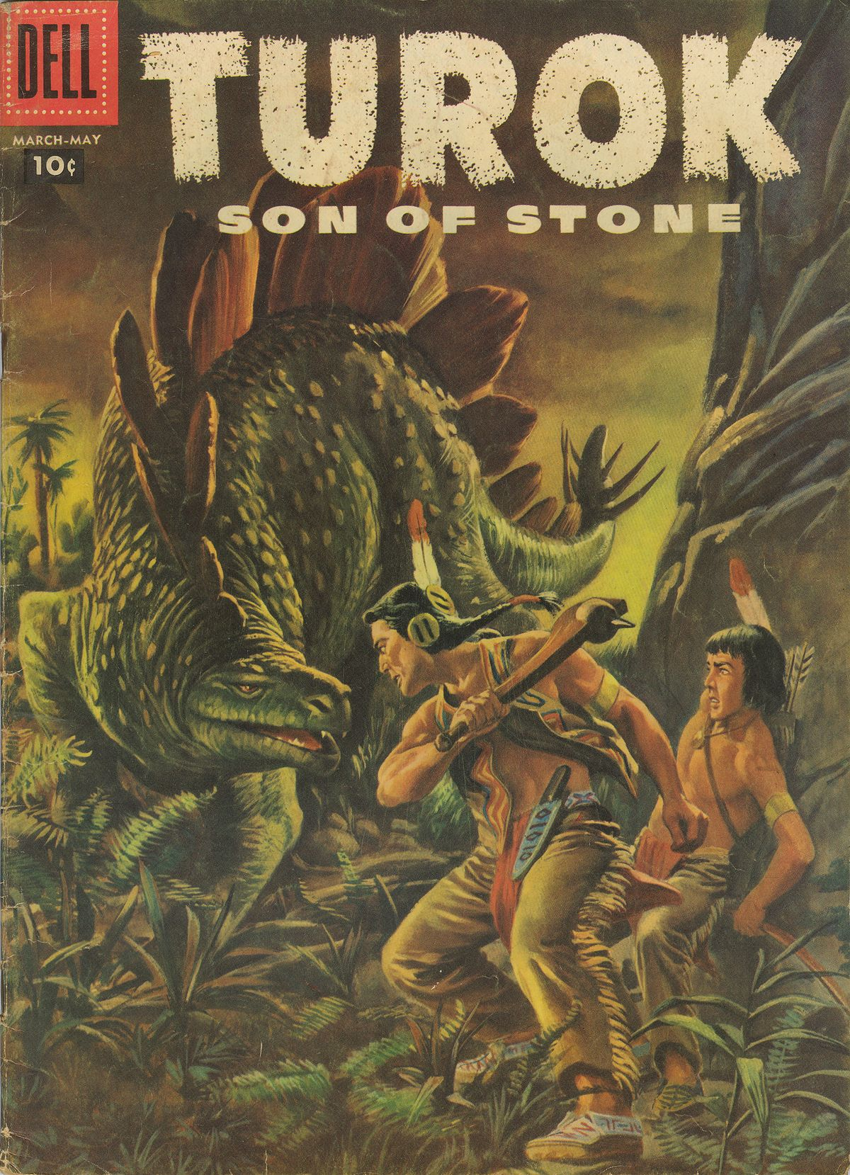 Read online Turok, Son of Stone comic -  Issue #7 - 1