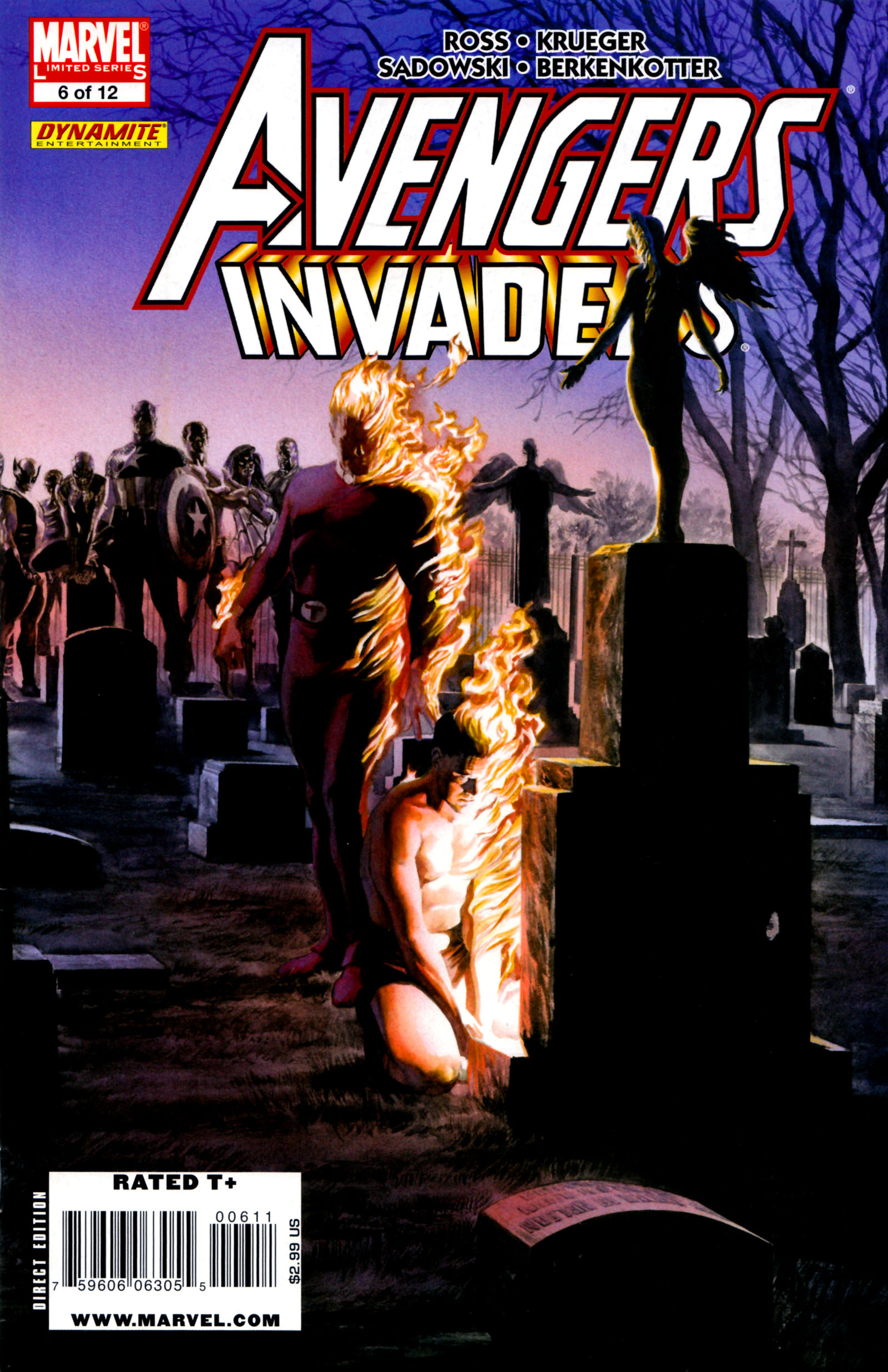 Avengers/Invaders 6 Page 1