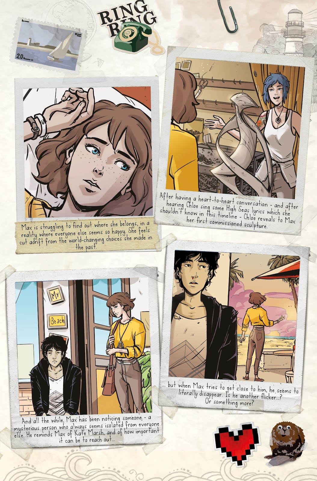 Read online Life is Strange comic -  Issue #6 - 5