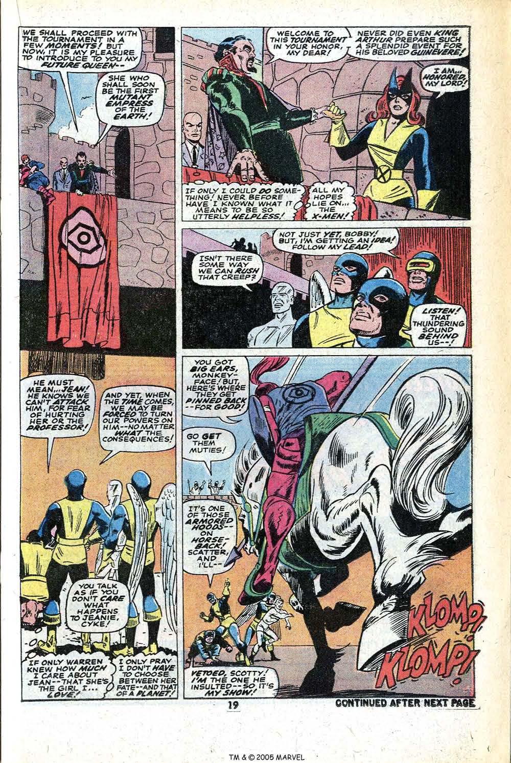 Read online Uncanny X-Men (1963) comic -  Issue #78 - 21