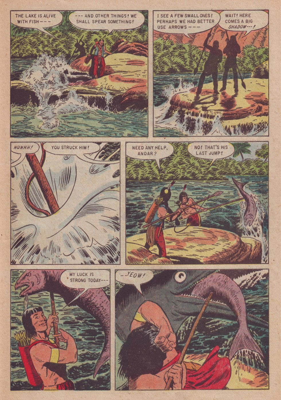 Read online Turok, Son of Stone comic -  Issue #3 - 31