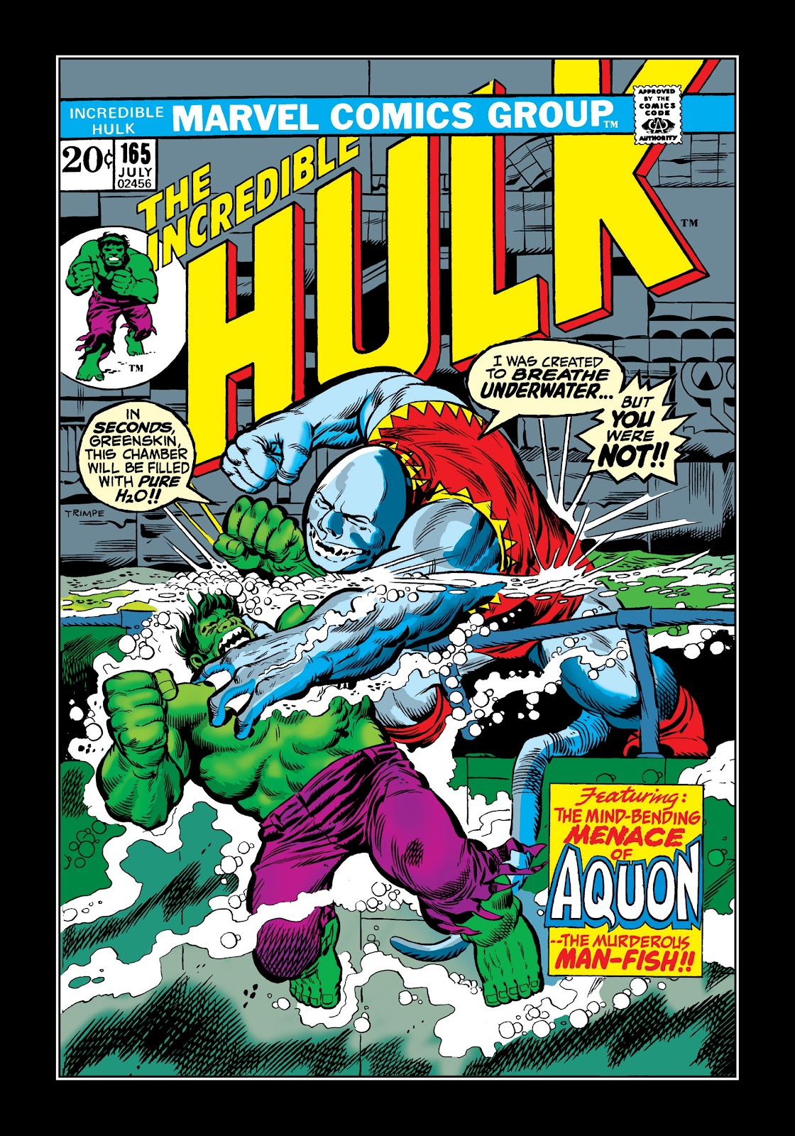 Read online Marvel Masterworks: The Incredible Hulk comic -  Issue # TPB 9 (Part 2) - 77