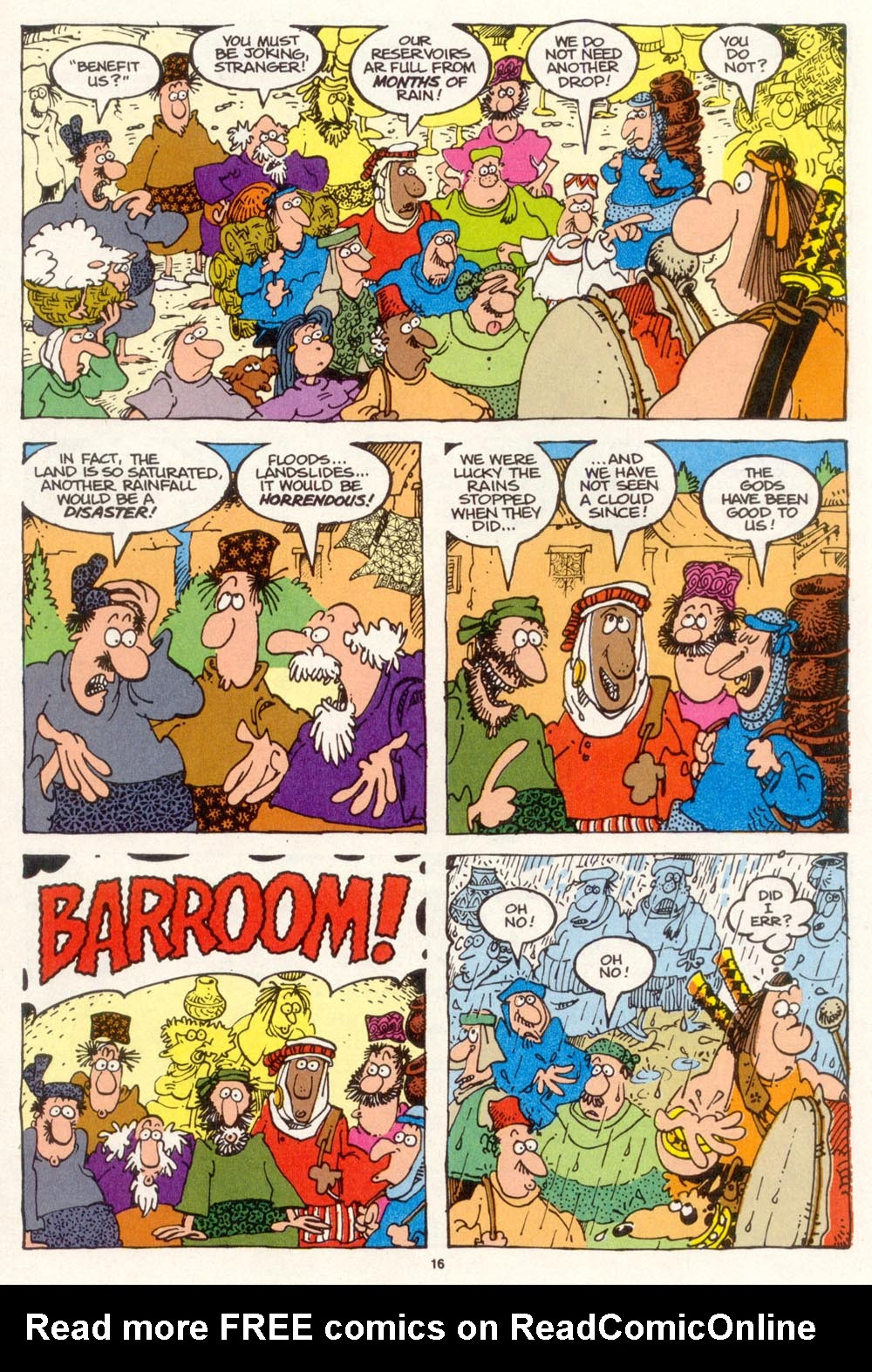 Read online Sergio Aragonés Groo the Wanderer comic -  Issue #113 - 18