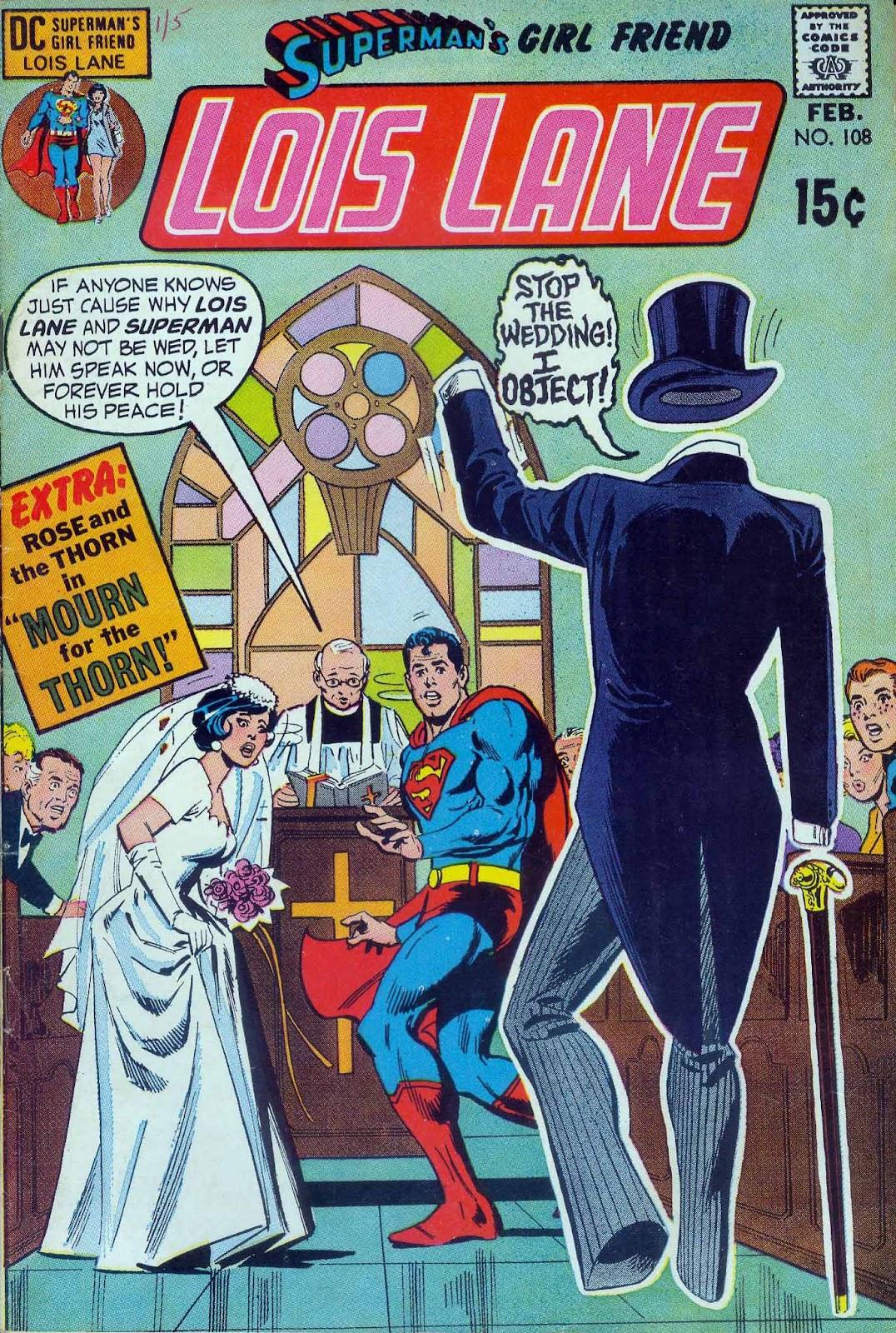 Supermans Girl Friend, Lois Lane 108 Page 1
