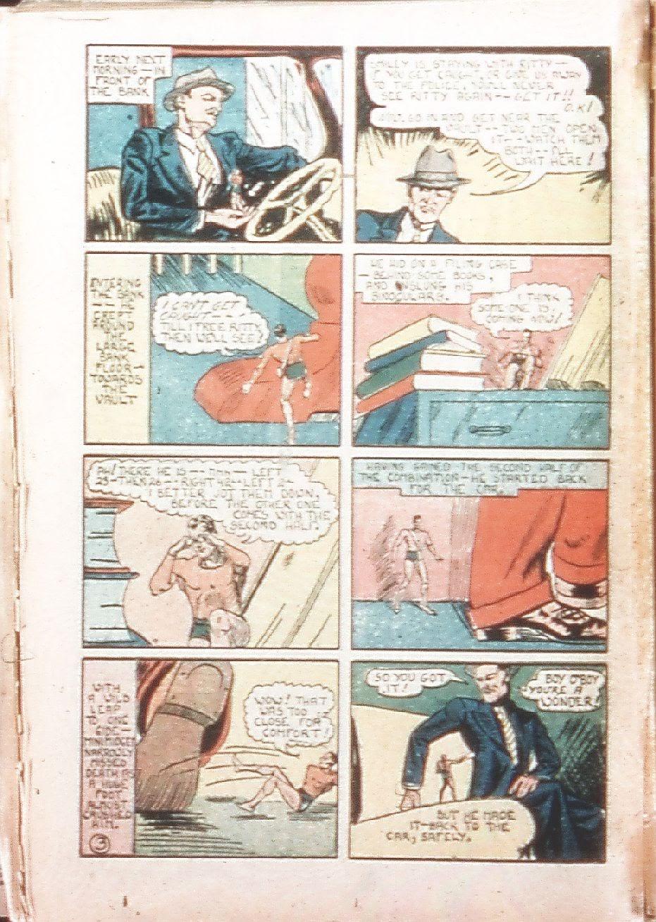 Read online Amazing Man Comics comic -  Issue #9 - 39