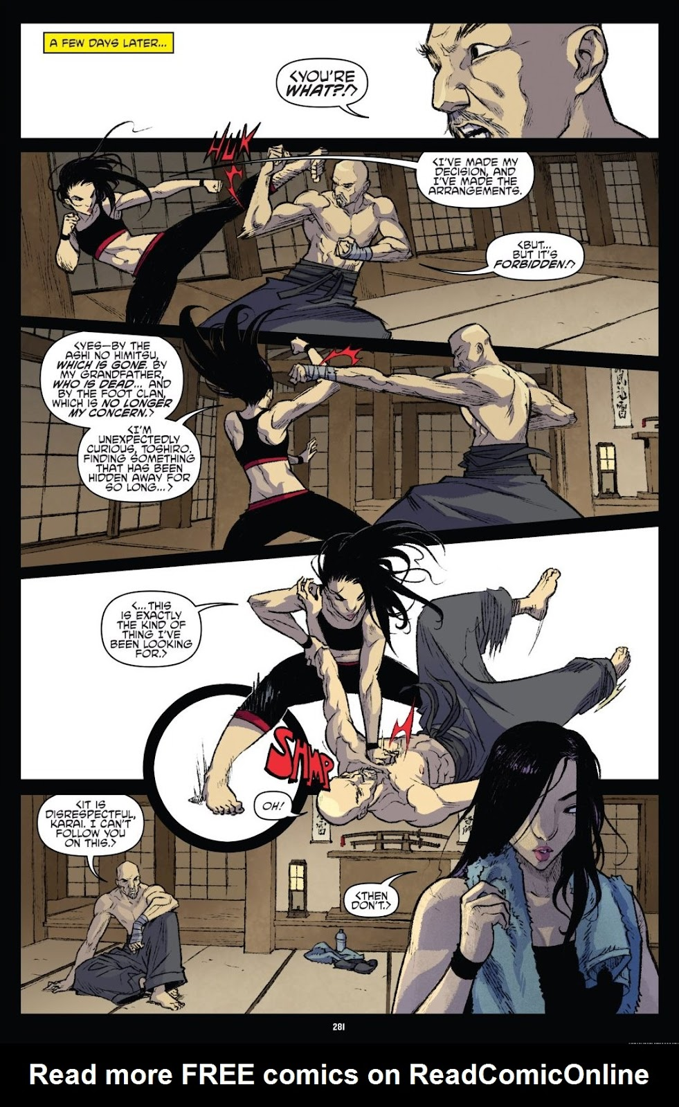 Read online Teenage Mutant Ninja Turtles: The IDW Collection comic -  Issue # TPB 9 (Part 3) - 78