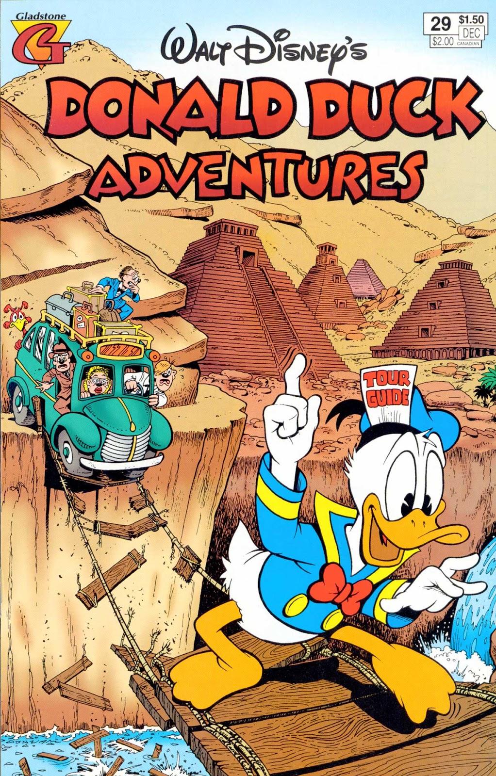 Walt Disney's Donald Duck Adventures (1987) issue 29 - Page 1