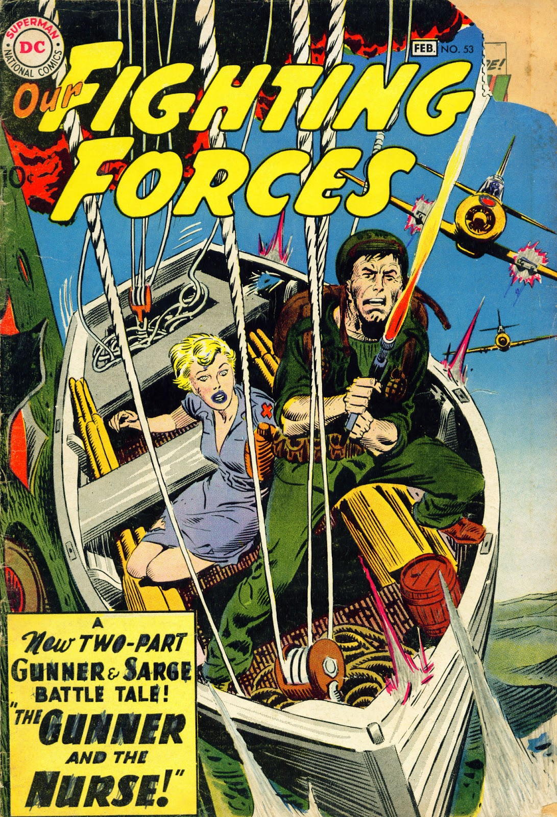 Our Fighting Forces (1954) issue 53 - Page 1