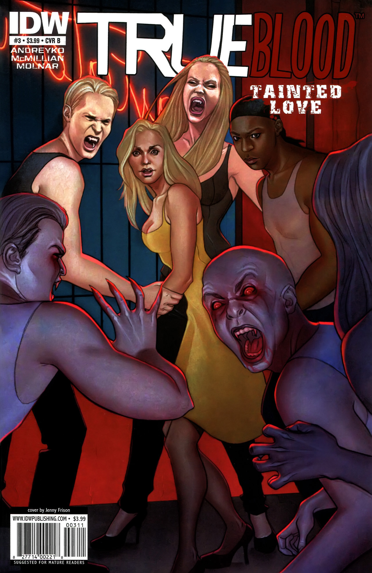 Read online True Blood: Tainted Love comic -  Issue #3 - 2