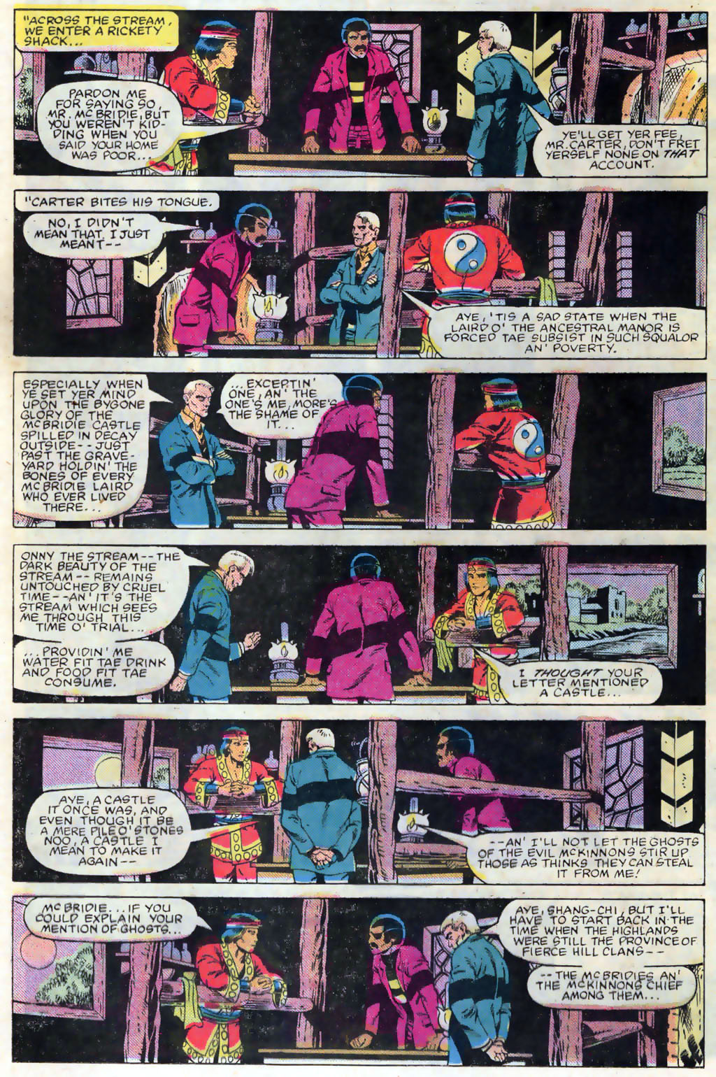 Read online Master of Kung Fu (1974) comic -  Issue #120 - 9
