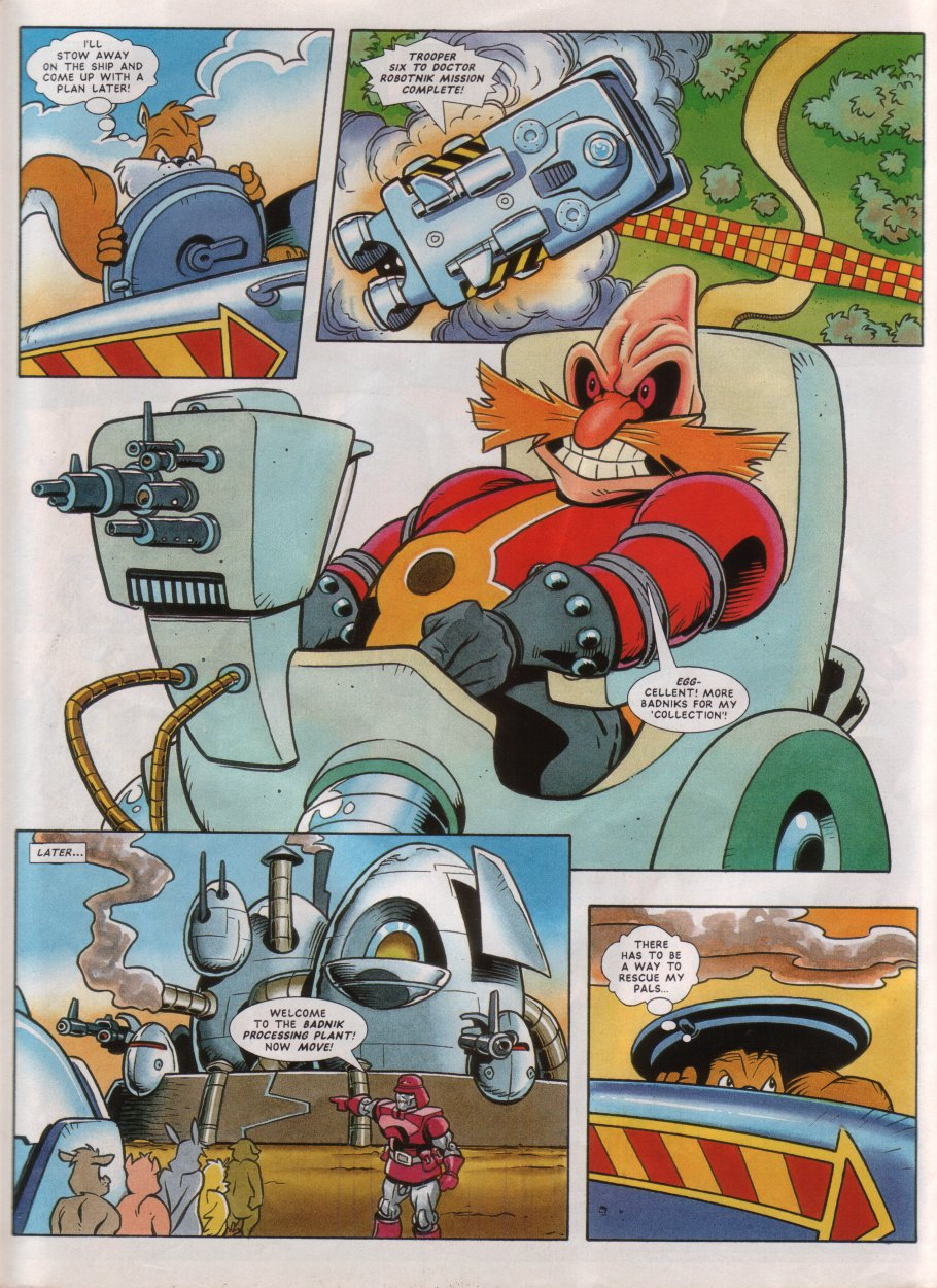 Read online Sonic the Comic comic -  Issue #45 - 22