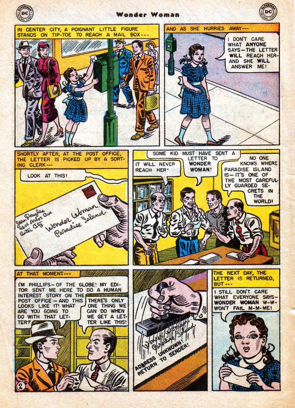 Read online Wonder Woman (1942) comic -  Issue #77 - 4