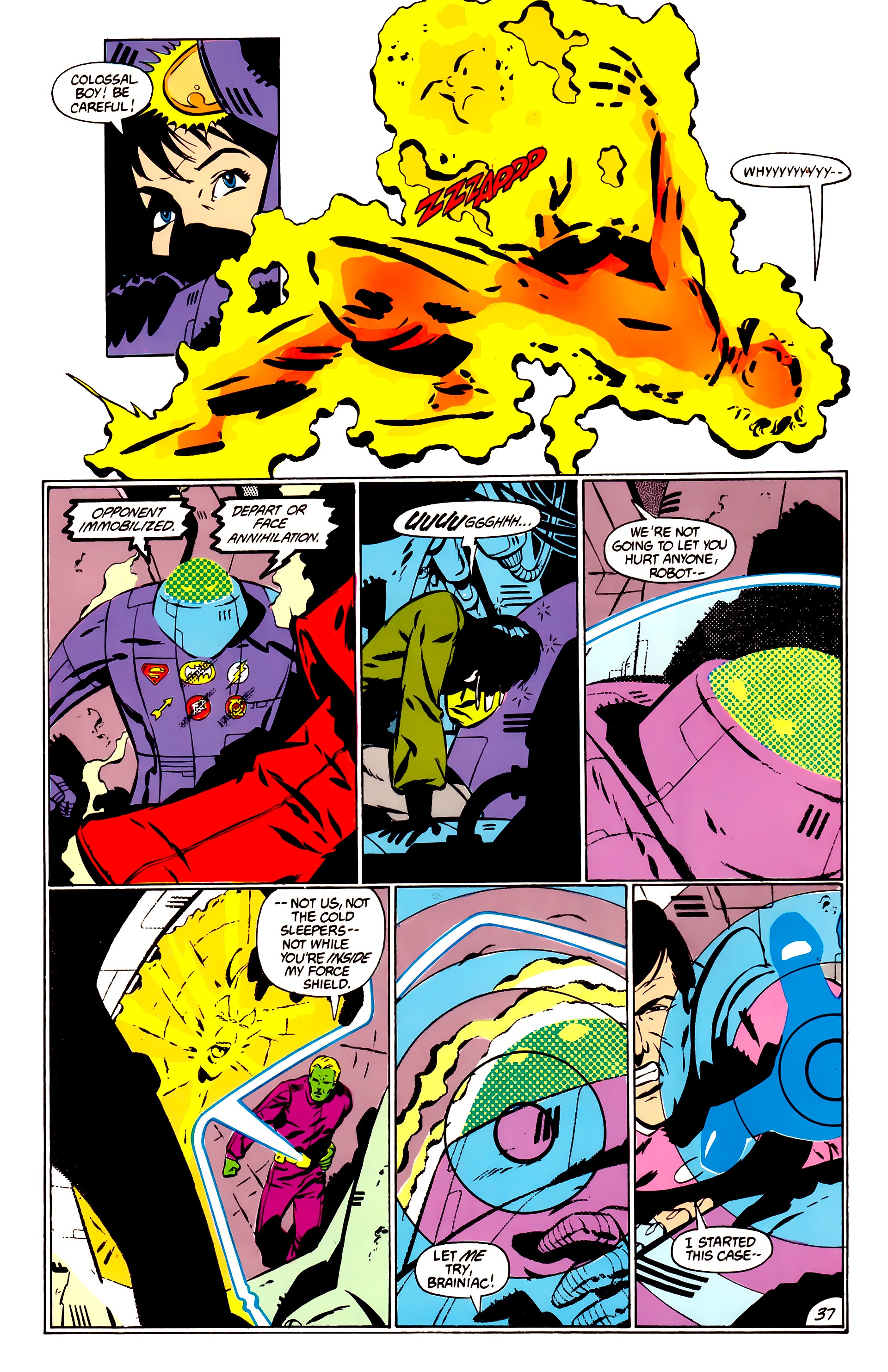 Legion of Super-Heroes (1984) _Annual_1 Page 38