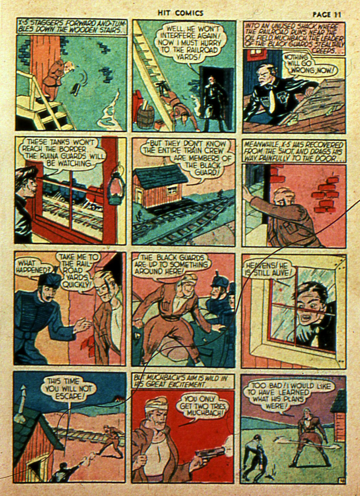 Read online Hit Comics comic -  Issue #2 - 13