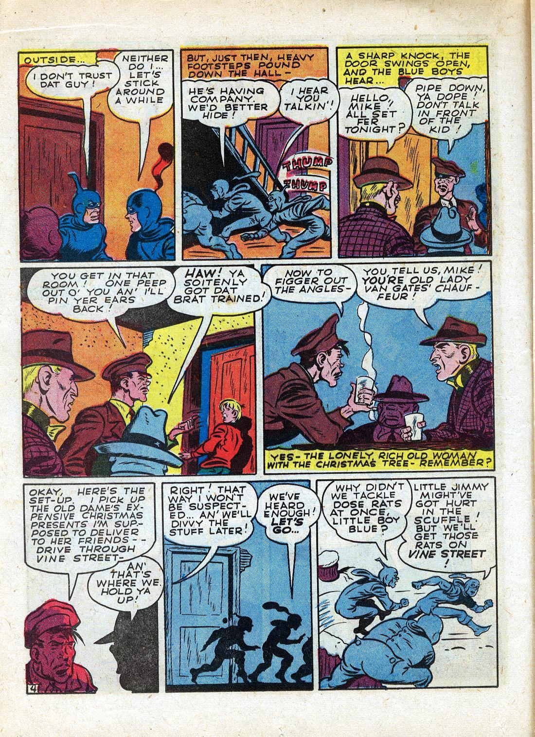 Read online Sensation (Mystery) Comics comic -  Issue #26 - 28