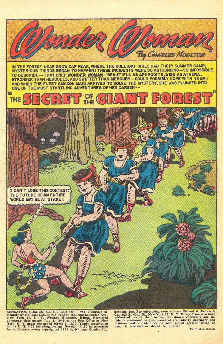 Read online Sensation (Mystery) Comics comic -  Issue #105 - 3