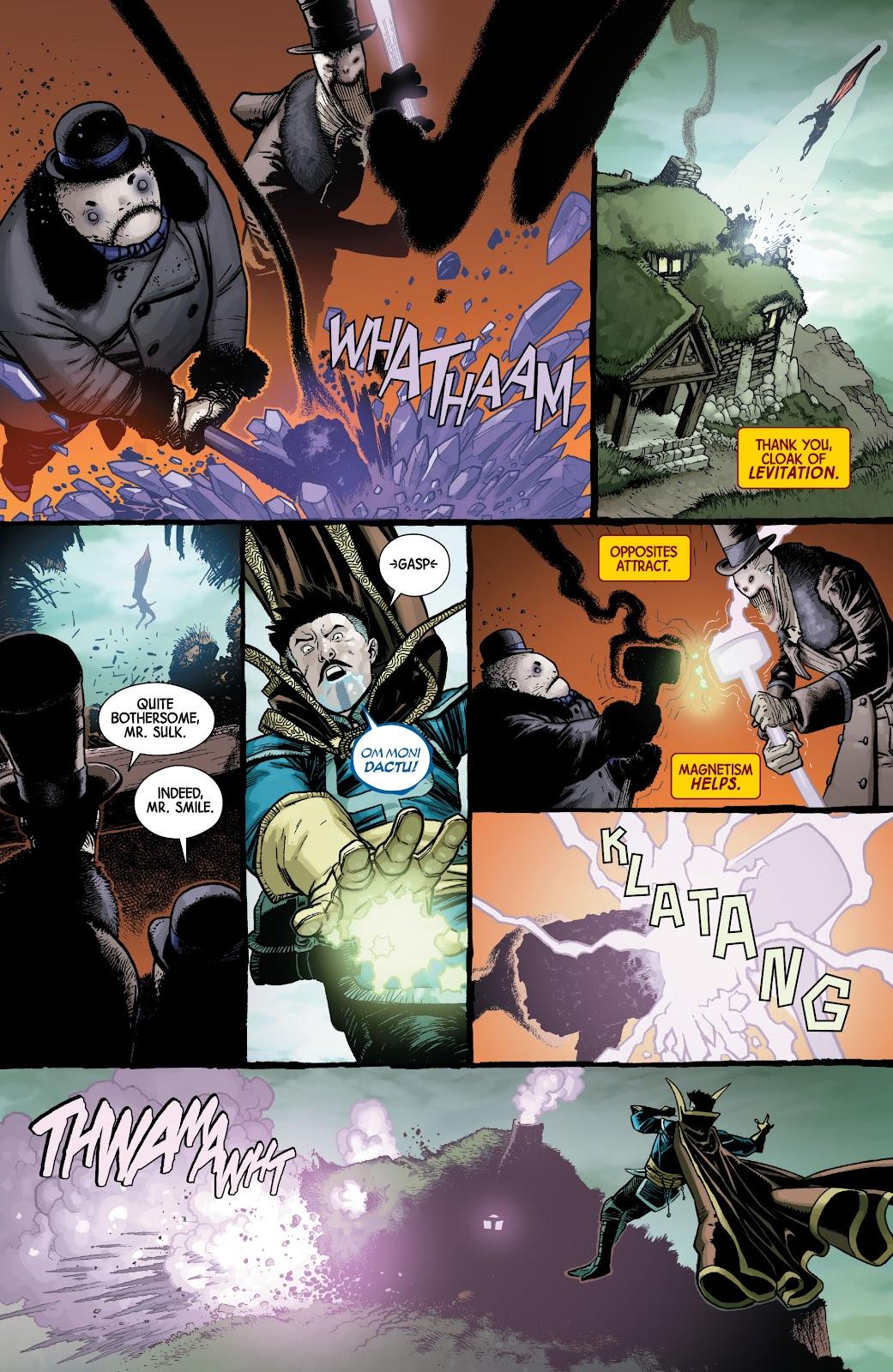 Read online Dr. Strange comic -  Issue #5 - 6