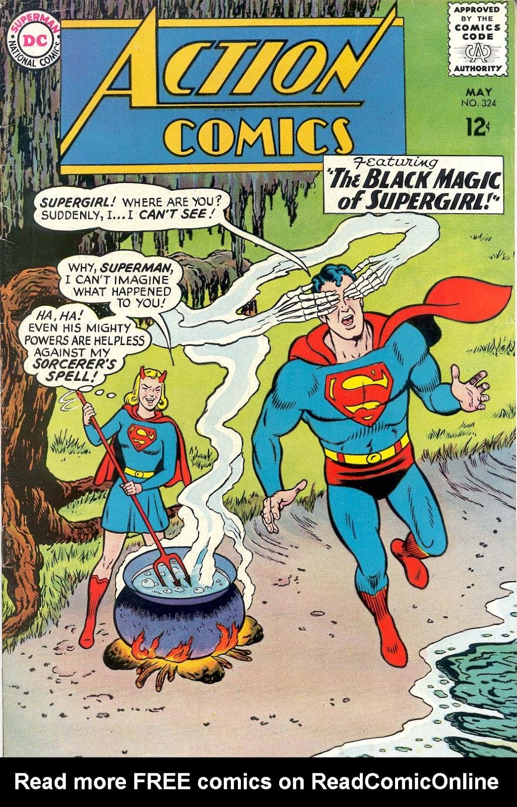 Action Comics (1938) 324 Page 1