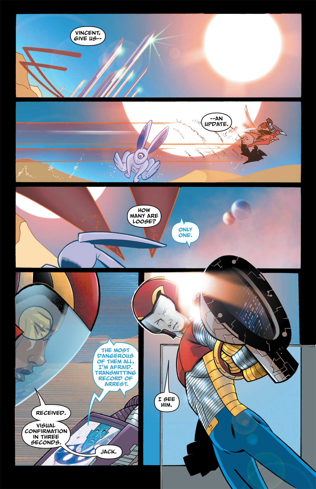 Read online The Many Adventures of Miranda Mercury: Time Runs Out comic -  Issue # TPB - 44