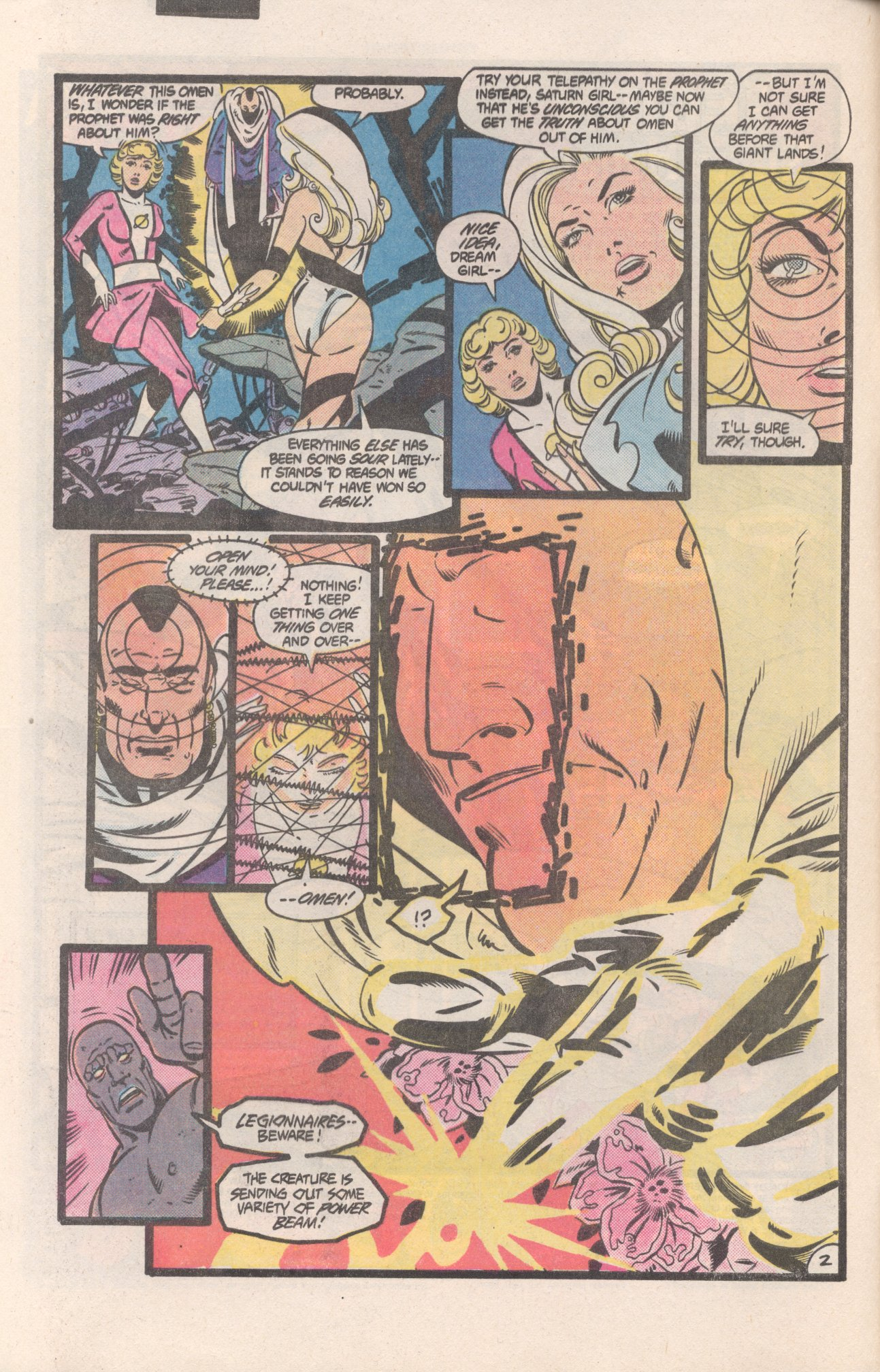 Legion of Super-Heroes (1980) 310 Page 2