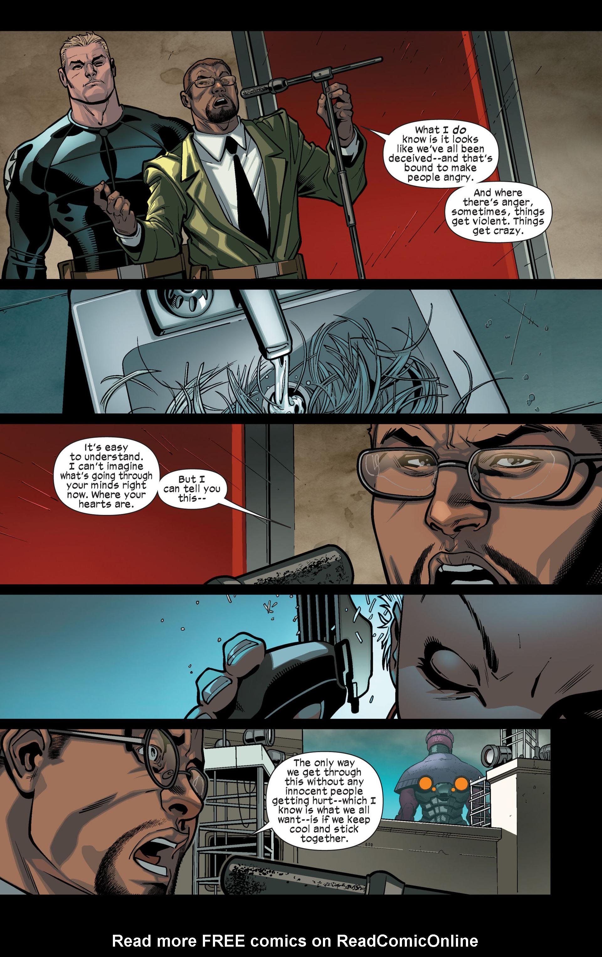 Read online Ultimate Comics X-Men comic -  Issue #9 - 16