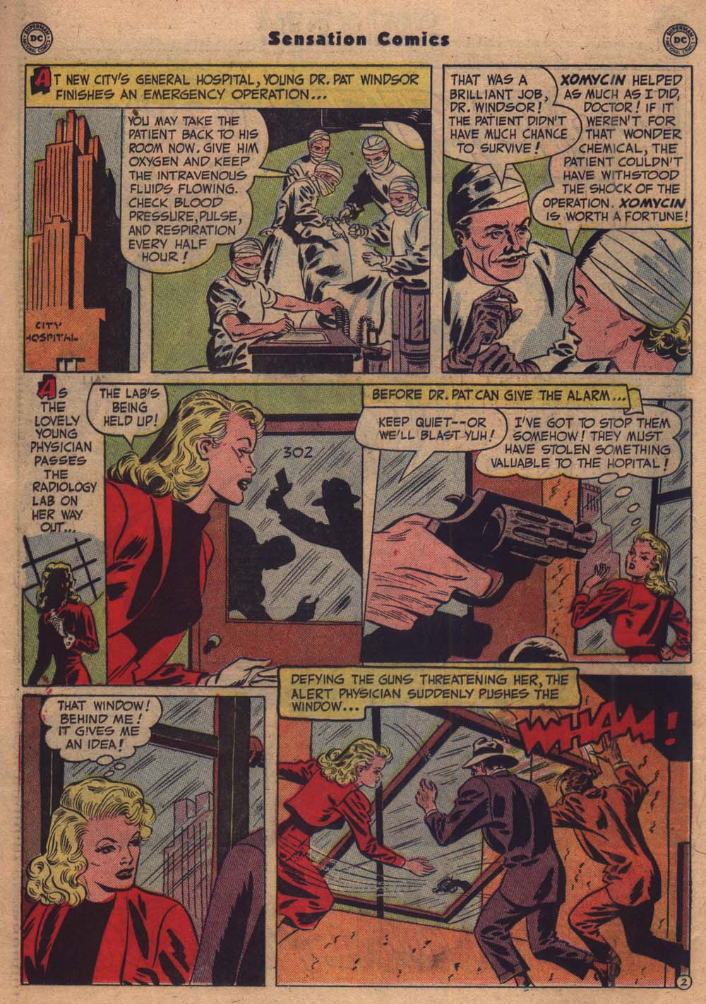 Read online Sensation (Mystery) Comics comic -  Issue #103 - 23