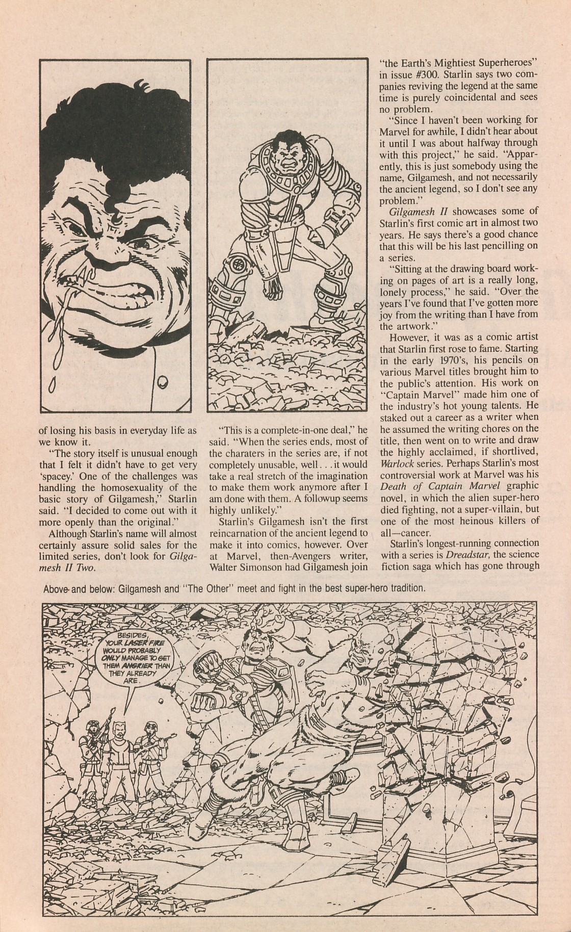 Read online Amazing Heroes comic -  Issue #161 - 38