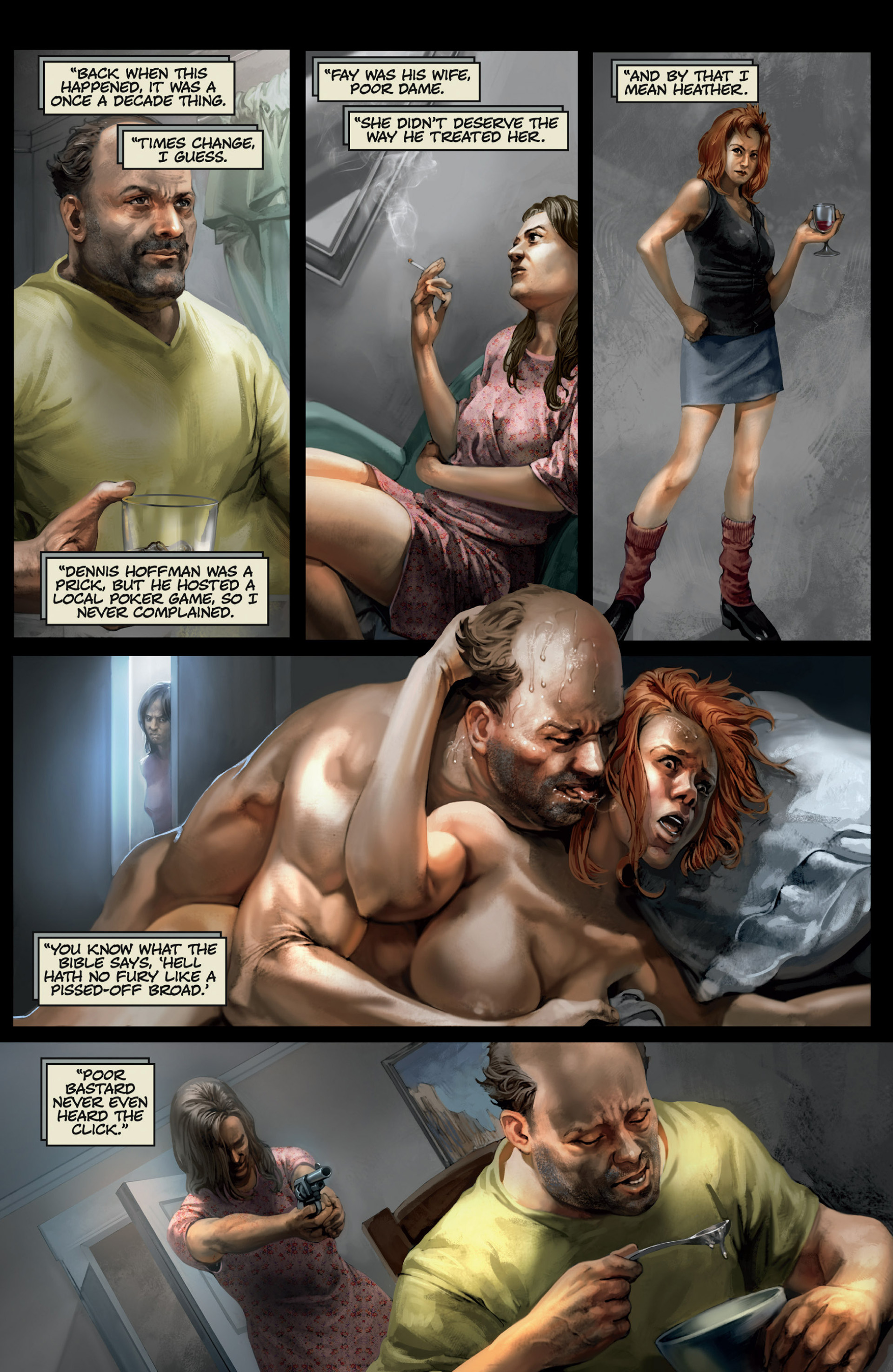 Read online Abattoir comic -  Issue #3 - 11