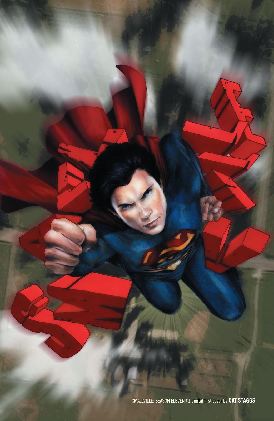 Read online Smallville Season 11 [II] comic -  Issue # TPB 1 - 133