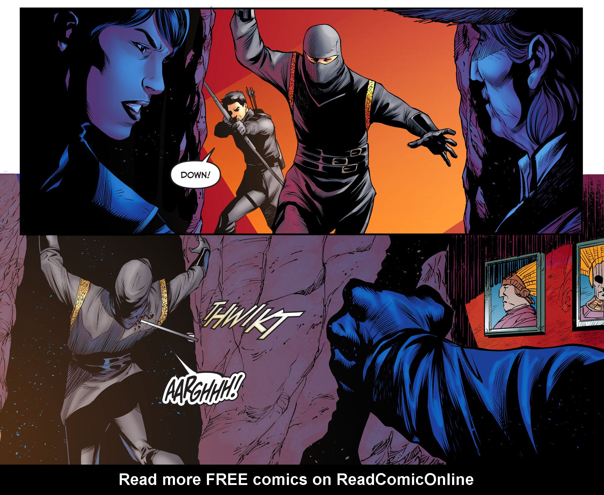 Read online Arrow: The Dark Archer comic -  Issue #3 - 4