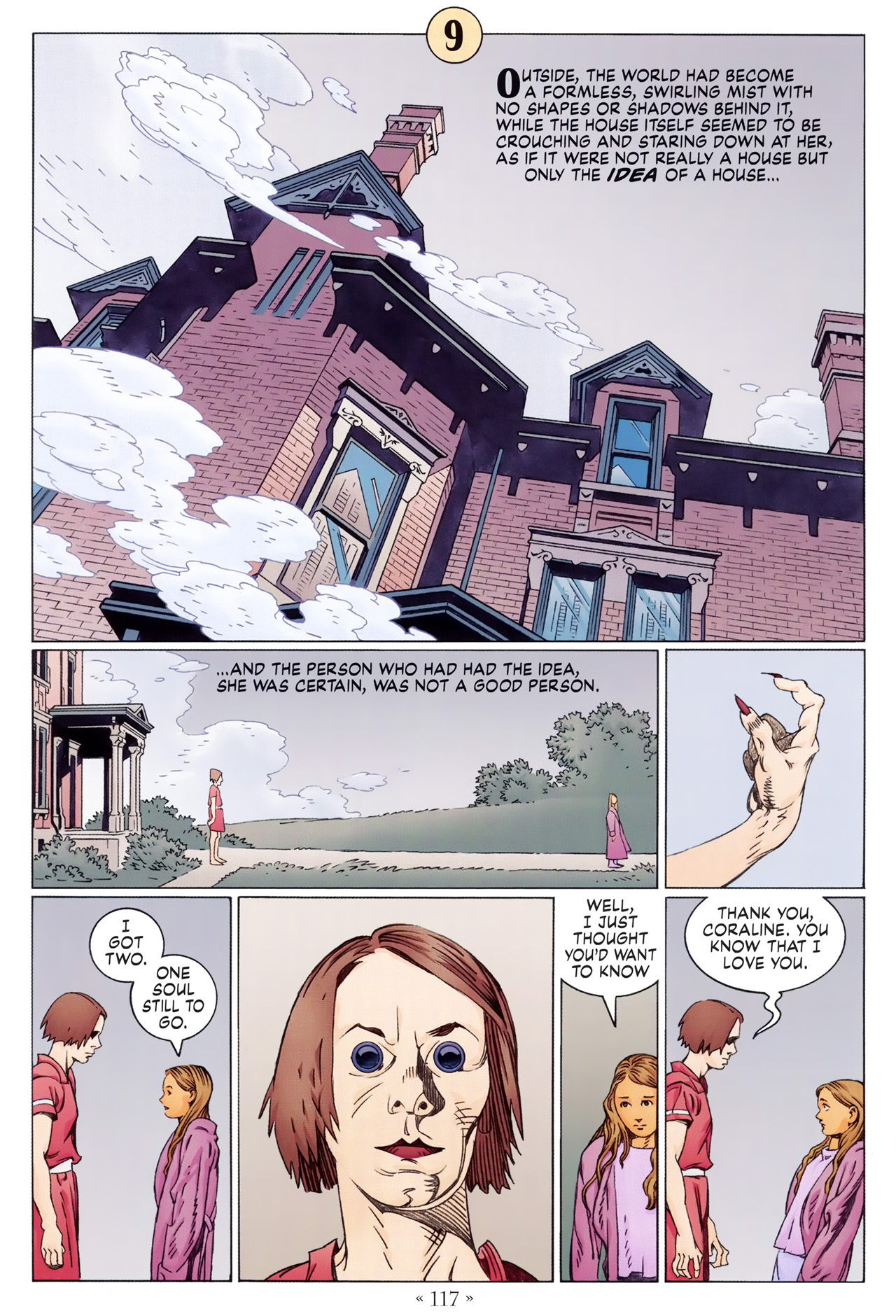 Read online Coraline comic -  Issue #1 - 123