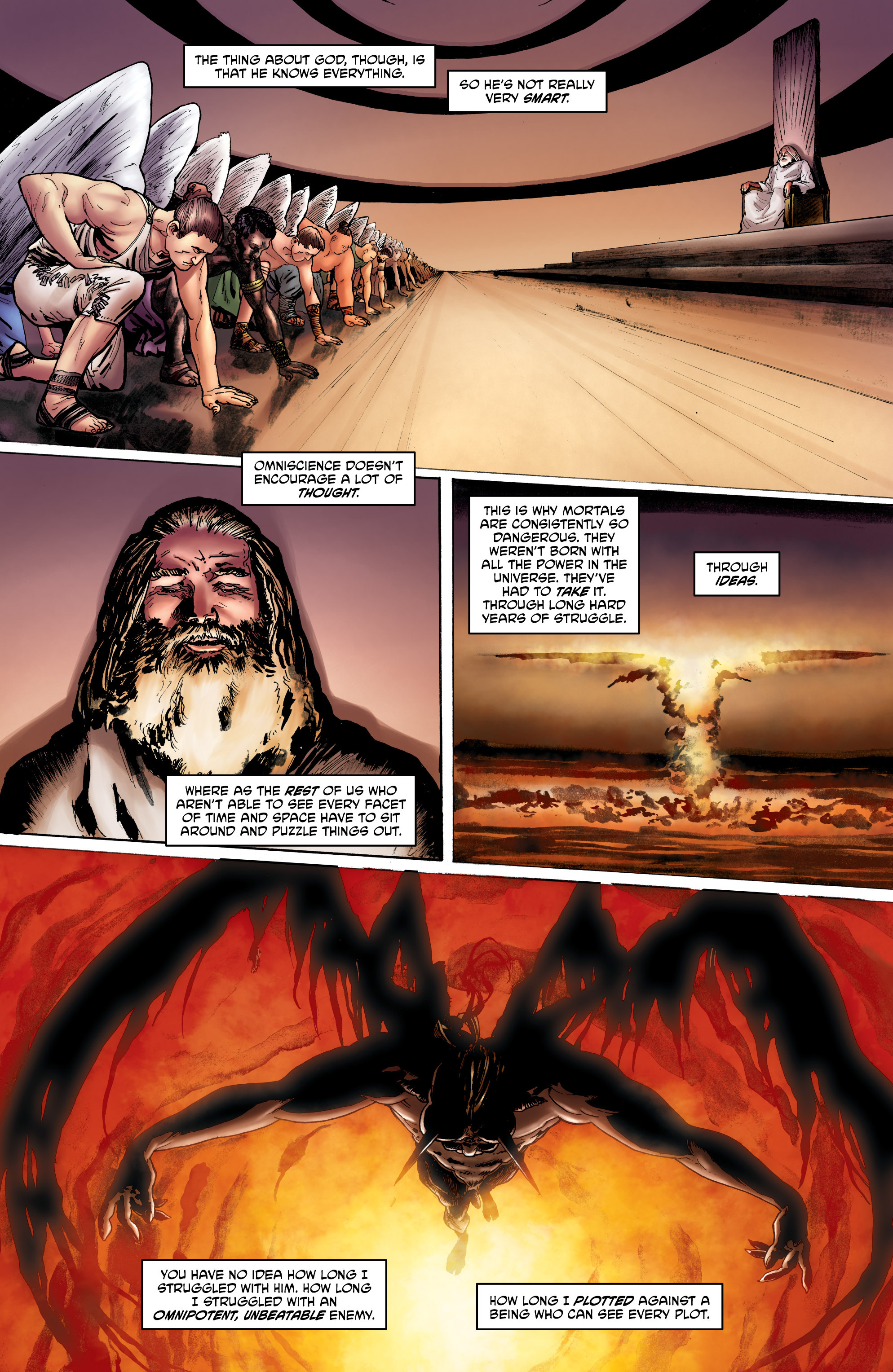 Read online God is Dead: Book of Acts comic -  Issue # Omega - 15