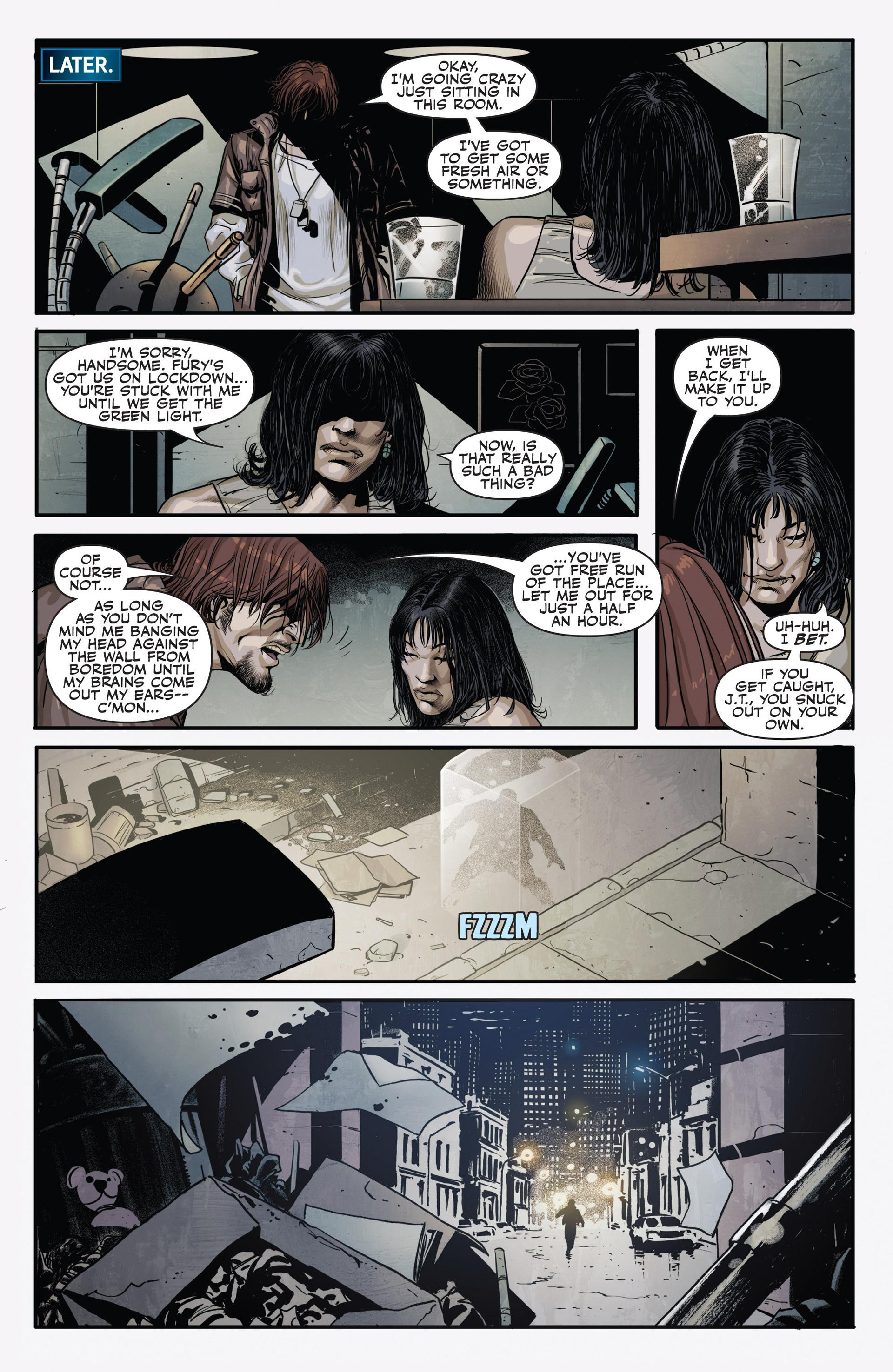 Read online Secret Warriors comic -  Issue #20 - 12