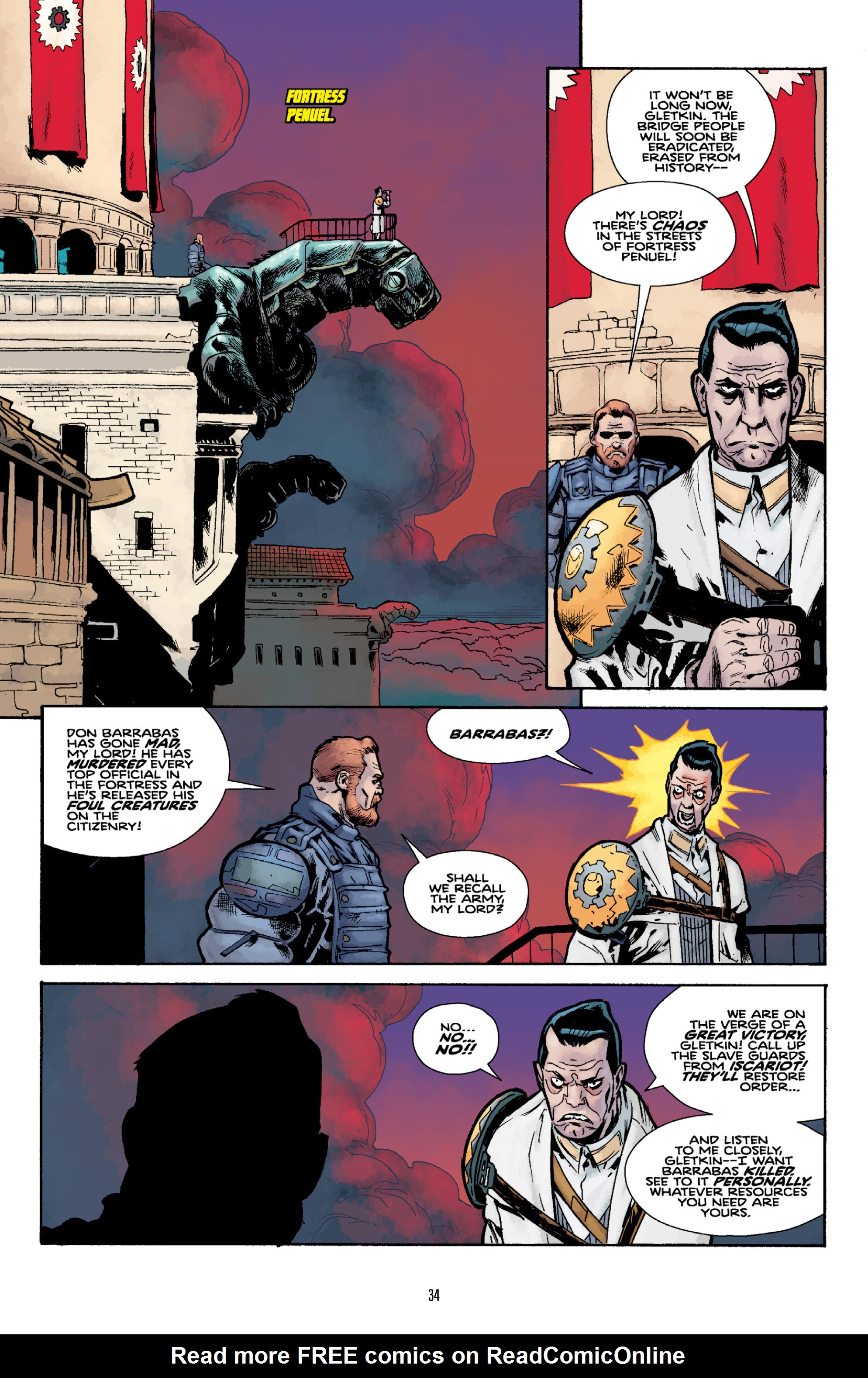 Read online Orchid comic -  Issue # TPB 3 - 34