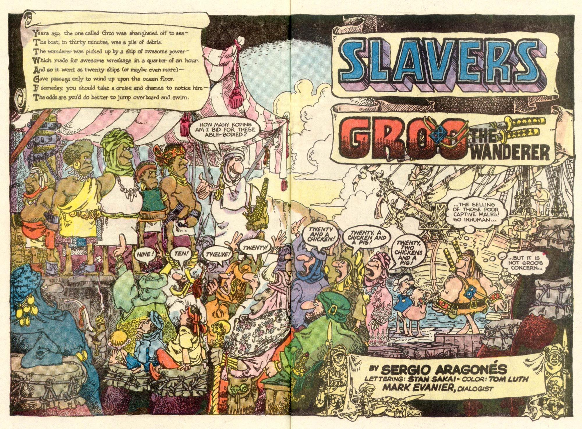 Read online Sergio Aragonés Groo the Wanderer comic -  Issue #5 - 3