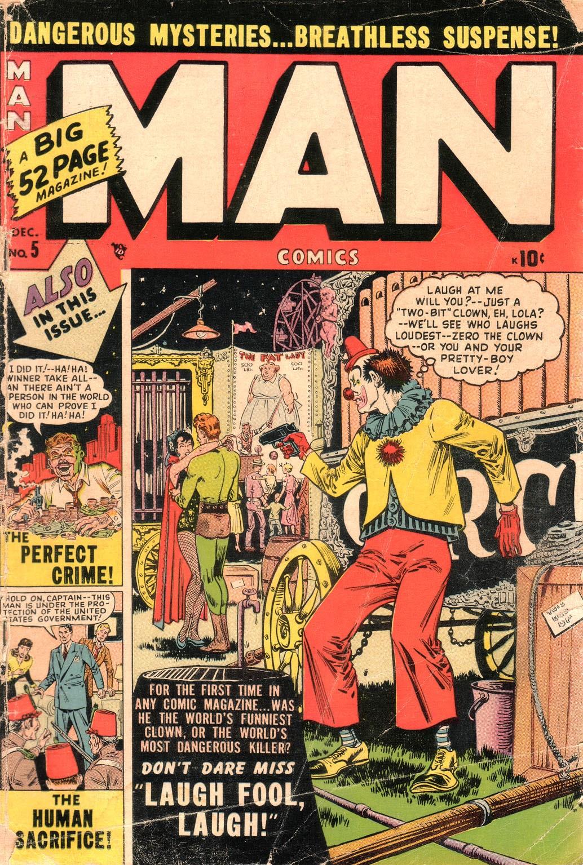 Man Comics 5 Page 1